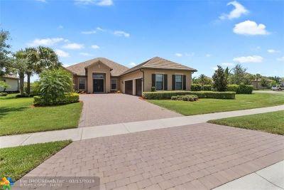 Wellington Single Family Home For Sale: 3994 Siena Cir