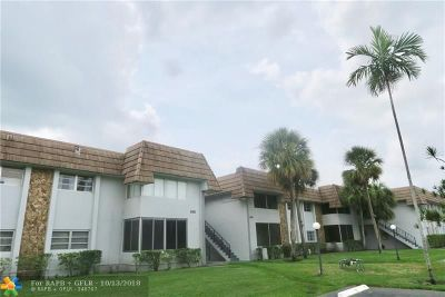 Coral Springs Condo/Townhouse For Sale: 8410 W Sample Rd #209