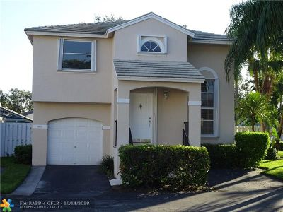 Plantation Single Family Home For Sale: 9853 NW 2nd St