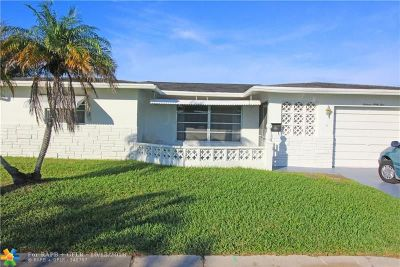 Margate Single Family Home For Sale: 1665 NW 68th Ter