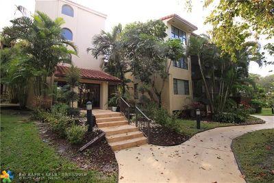 Lauderhill Condo/Townhouse For Sale: 6010 S Falls Circle Dr #413