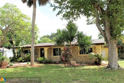 Wilton Manors Single Family Home For Sale: 400 NW 24th St