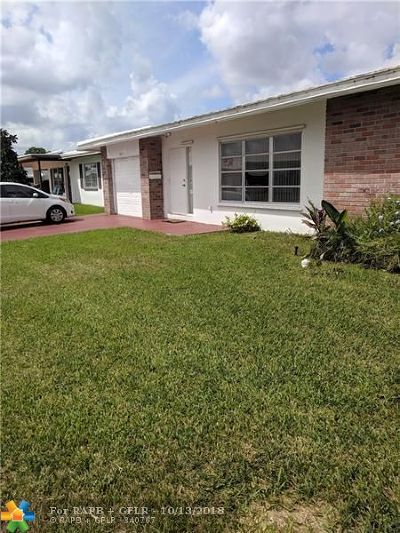 Tamarac Single Family Home For Sale: 8301 NW 59th St