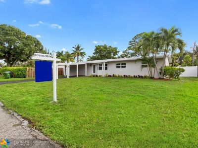 Wilton Manors Single Family Home For Sale: 2738 NE 1 Way