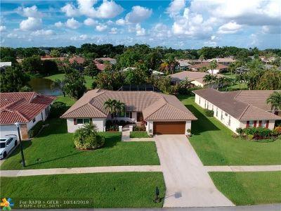 Boca Raton Single Family Home For Sale: 10089 Crosswind Rd