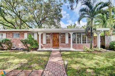 Fort Lauderdale Single Family Home For Sale: 1431 SW 19th Ave