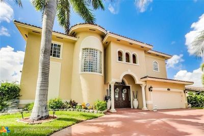 Pompano Beach FL Single Family Home For Sale: $1,099,000