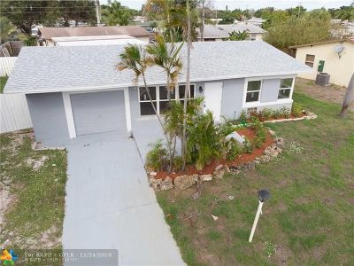 Pompano Beach Single Family Home For Sale: 1121 NE 23rd St