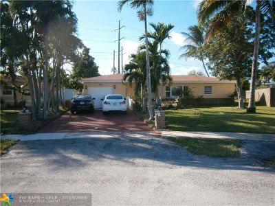 North Lauderdale Single Family Home For Sale: 1401 Broadmoor