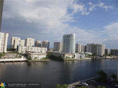Hallandale Condo/Townhouse For Sale: 100 Golden Isles Dr #1002