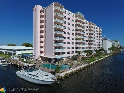 Fort Lauderdale Condo/Townhouse For Sale: 2900 NE 30th St #G-7