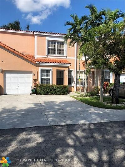 Miramar Condo/Townhouse For Sale: 8419 SW 22nd St #8419