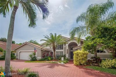 Coral Springs Single Family Home For Sale: 12722 NW 16th Ct