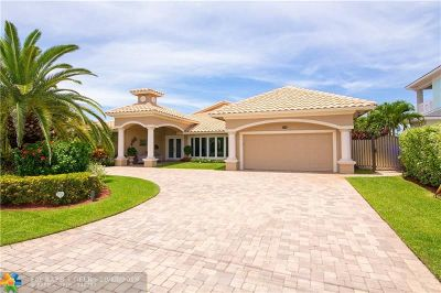 Lauderdale By The Sea Single Family Home For Sale: 301 Tropic Dr