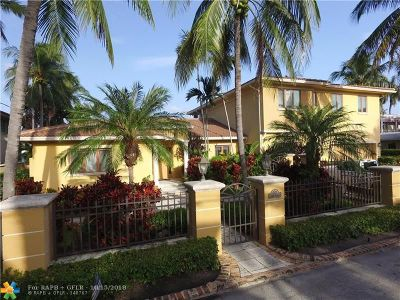 Fort Lauderdale Single Family Home For Sale: 703 Royal Plaza Dr