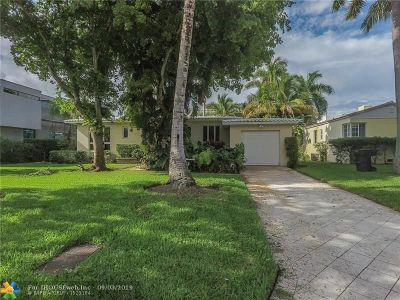 Fort Lauderdale Single Family Home For Sale: 2514 Castilla Isle