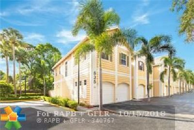 Fort Lauderdale Condo/Townhouse For Sale: 535 SW 18th Ave #32