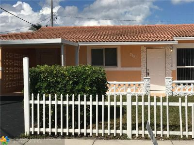 Lauderhill Single Family Home For Sale: 3191 NW 13th Ct