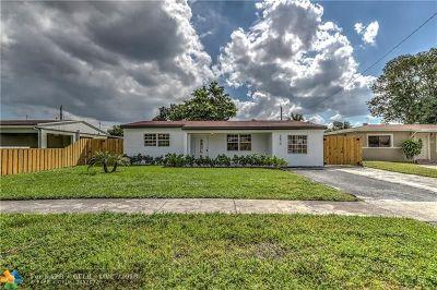 Miramar Single Family Home Backup Contract-Call LA: 6870 SW 27th St