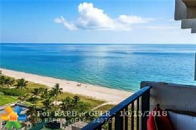 Lauderdale By The Sea Condo/Townhouse For Sale: 5100 N Ocean Blvd #1506