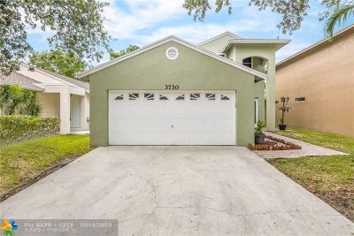 Coconut Creek Single Family Home For Sale: 3730 NW 23rd Pl