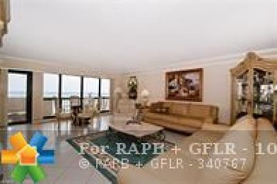 Lauderdale By The Sea Condo/Townhouse For Sale: 5100 N Ocean Blvd #1216