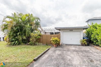 Fort Lauderdale Single Family Home For Sale: 1459 SW 18th Ter