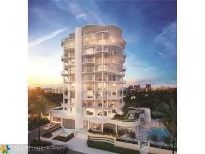Fort Lauderdale Condo/Townhouse For Sale: 620 Bayshore Drive #402
