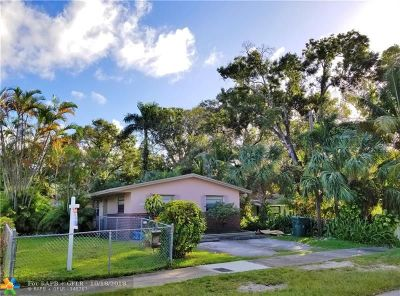 Fort Lauderdale Single Family Home For Sale: 1832 SW 22nd St