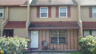 Miami Condo/Townhouse For Sale: 2758 NW 196th Ter #2758