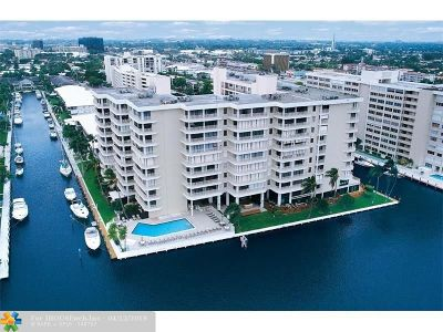 Fort Lauderdale Condo/Townhouse For Sale: 3100 NE 48th St #913