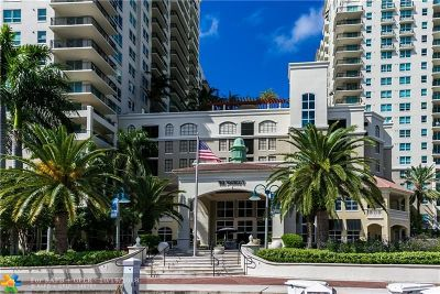 Broward County Condo/Townhouse For Sale: 610 W Las Olas Blvd #915N