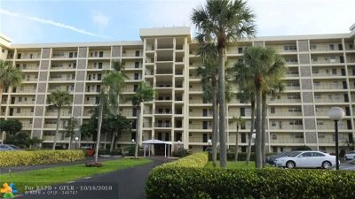 Pompano Beach Condo/Townhouse For Sale: 3150 N Palm Aire Dr #905