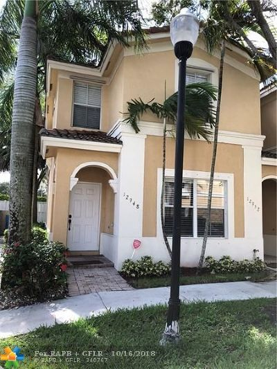 Miramar Condo/Townhouse For Sale: 12948 SW 32nd St #101