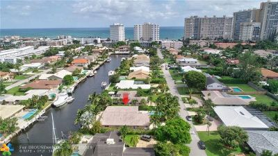 Lauderdale By The Sea Single Family Home For Sale: 259 Codrington Dr