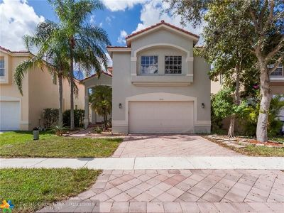 Coral Springs FL Single Family Home For Sale: $400,000