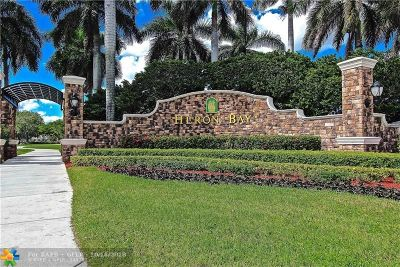 Coral Springs Condo/Townhouse For Sale: 5776 NW 119th Dr #.