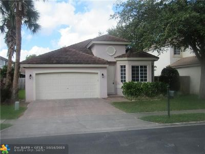Pembroke Pines Single Family Home For Sale: 1806 NW 98th Ave