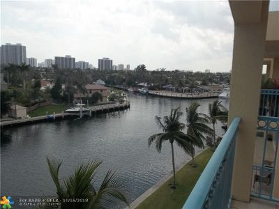 Hallandale Condo/Townhouse For Sale: 201 Golden Isles Dr. #505