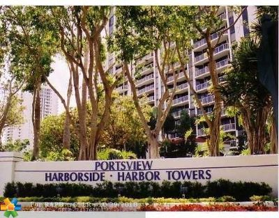 Aventura Condo/Townhouse For Sale: 3640 Yacht Club Dr. #908