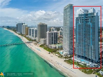 Sunny Isles Beach Condo/Townhouse For Sale: 17001 Collins Ave #2106