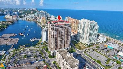 Fort Lauderdale Condo/Townhouse For Sale: 100 S Birch Rd #1701A