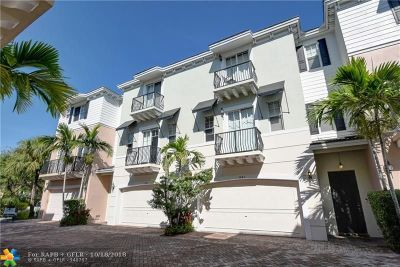 Boca Raton Condo/Townhouse For Sale: 3845 NW 5th #TE