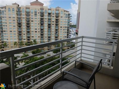 Fort Lauderdale Condo/Townhouse For Sale: 2670 E Sunrise Blvd #1115