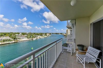 Pompano Beach Condo/Townhouse For Sale: 2611 N Riverside Dr #701
