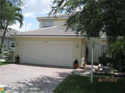 Coral Springs Rental For Rent: 11639 NW 48th Ct