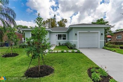 Fort Lauderdale Single Family Home For Sale: 1330 NW 11th St