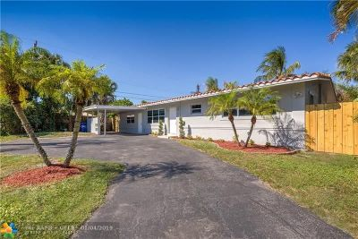 Pompano Beach Single Family Home For Sale: 1251 NE 25th Ave