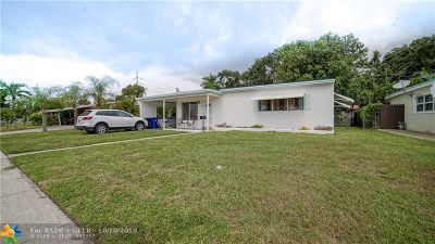 Fort Lauderdale Single Family Home For Sale: 827 SW 26th Ct