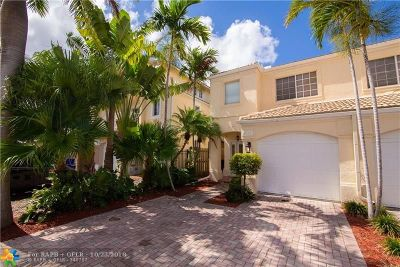 Lauderdale By The Sea Condo/Townhouse For Sale: 4545 Bougainvilla Dr #4545